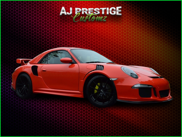Porsche 996 to 991 GT3 RS Body Kit