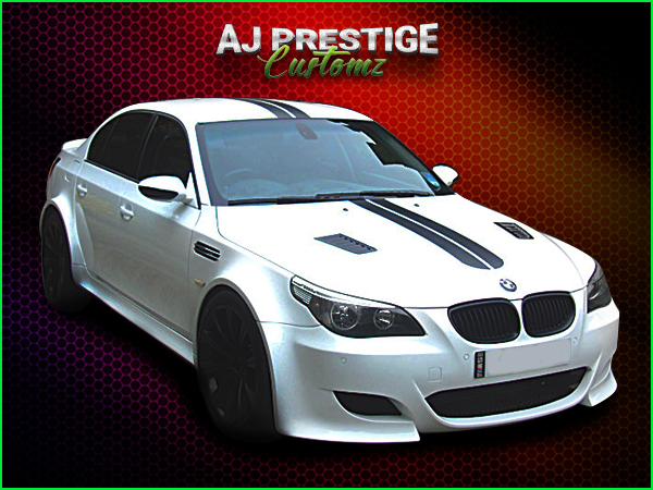 BMW E60 to M5 Wide Body Kit