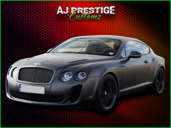 Bentley Continental GT Supersports Body Kit