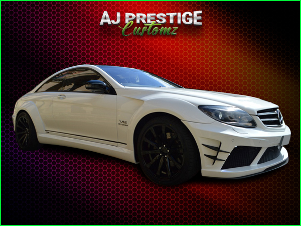 Mercedes CL to Black series Body Kit