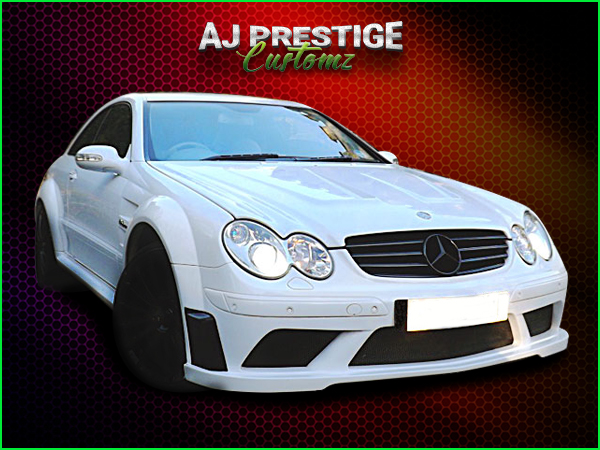 Mercedes-CLK-to-Black-Series-Wide-Body-Kit-Cut (4)