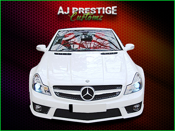 Mercedes SL R230 to 63 AMG Wide Body Kit (1)