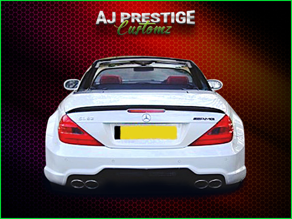 Mercedes SL R230 to 63 AMG Wide Body Kit (3)