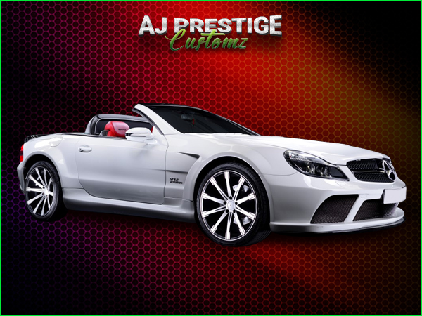 Mercedes SL R230 to SL65 Black series Body Kit