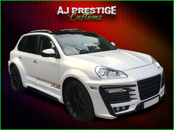 Porsche Cayenne Xclusive Wide Body Kit (1)