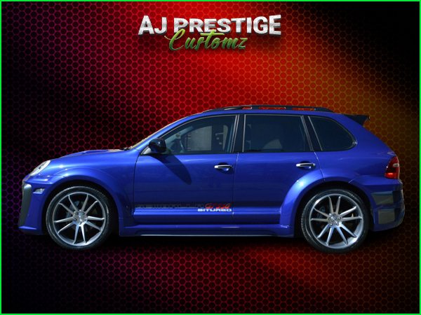 Porsche Cayenne Xclusive Wide Body Kit (11)