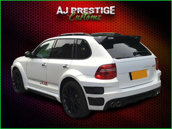 Porsche Cayenne Xclusive Wide Body Kit (2)