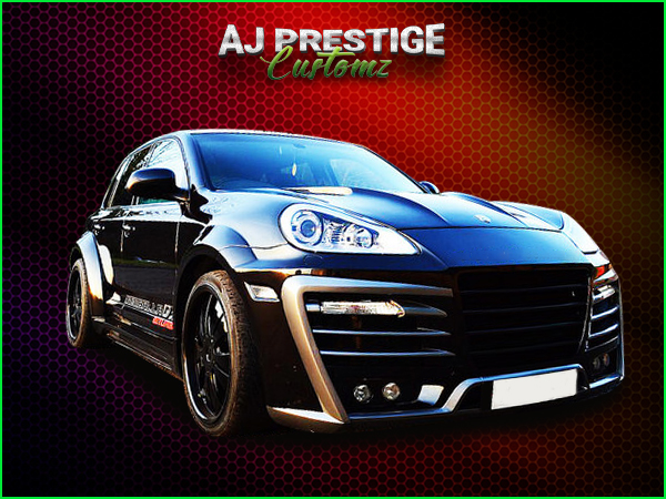 Porsche Cayenne Xclusive Wide Body Kit (4)