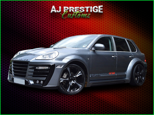 Porsche Cayenne Xclusive Wide Body Kit (5)