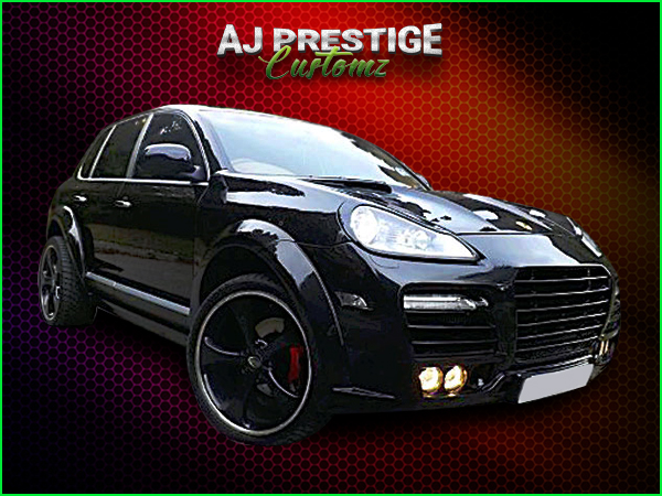 Porsche Cayenne to Lumma Body Kit
