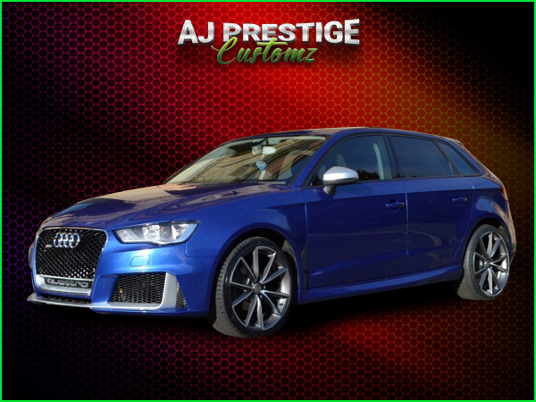 London Audi A3 to RS3, 5-Door 8V Body Kit
