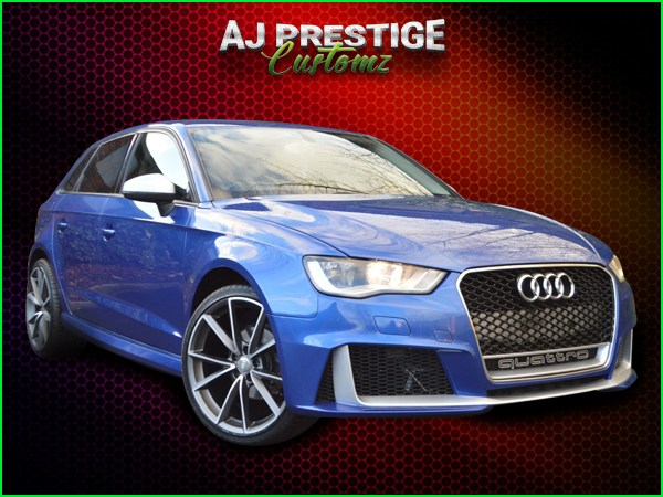Audi A3 to RS3, 5-Door 8V Body Kits