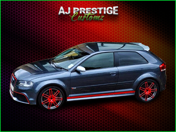 Audi A3 to RS3, 3-Door Body Kit