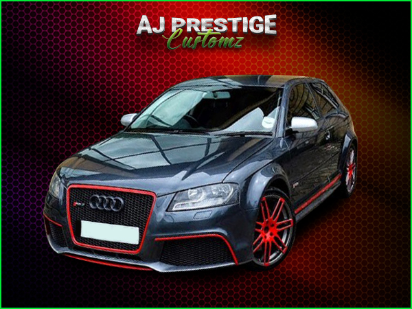 London Audi A3 to RS3 Body Kit