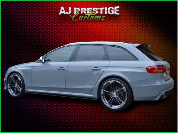 London Audi A4 B8 Avant to RS4 Full Body Kit