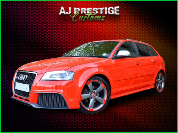 London Audi A3 to RS3 5-Door Body Kit
