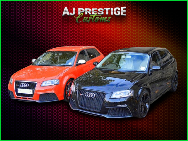 Audi A3 to RS3, 5-Door Body Kit