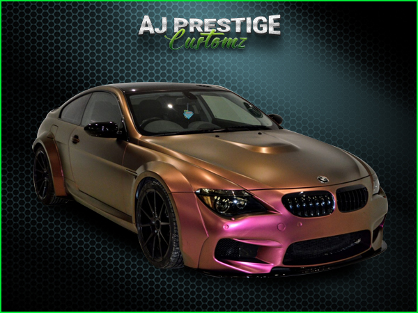BMW E63 to M6 Wide Body Kit