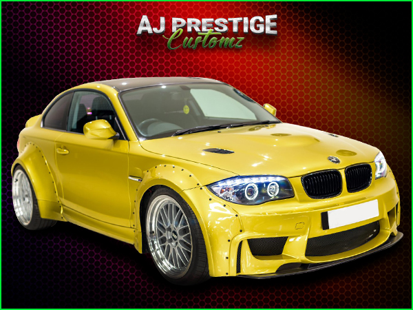 BMW E82/E88 to 1M Body Kit
