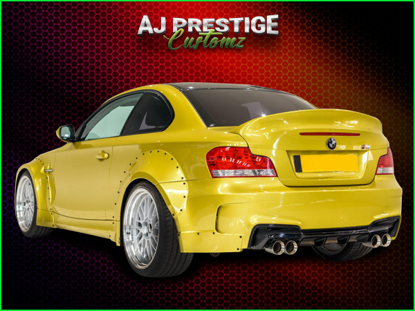 BMW E82  E88  Wide Bodykit (5)