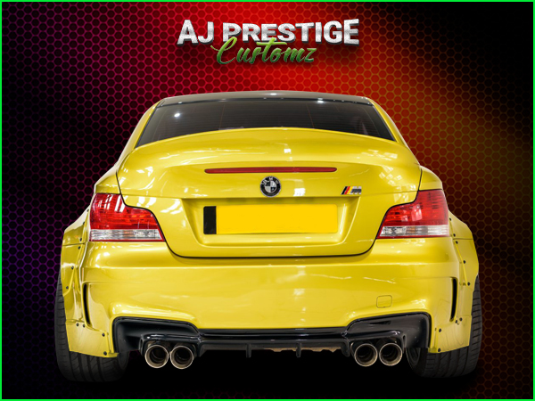 BMW E82  E88  Wide Bodykit (6)