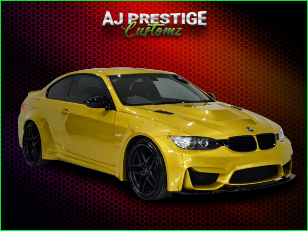 BMW-E92-E93-to-M4-Style-Wide-Body-Kit-(2)