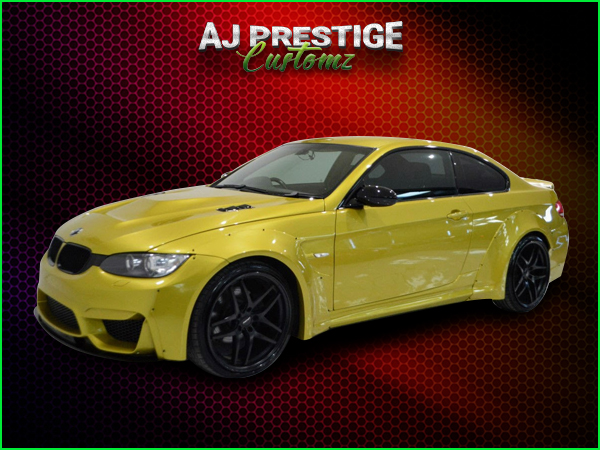 BMW-E92-E93-to-M4-Style-Wide-Body-Kit-(3)