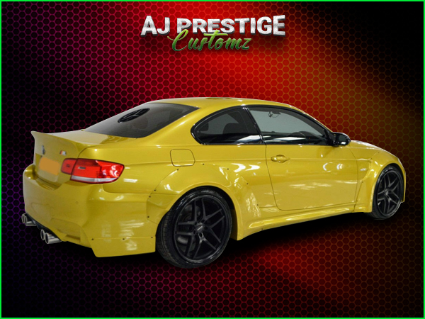 BMW-E92-E93-to-M4-Style-Wide-Body-Kit-(4)