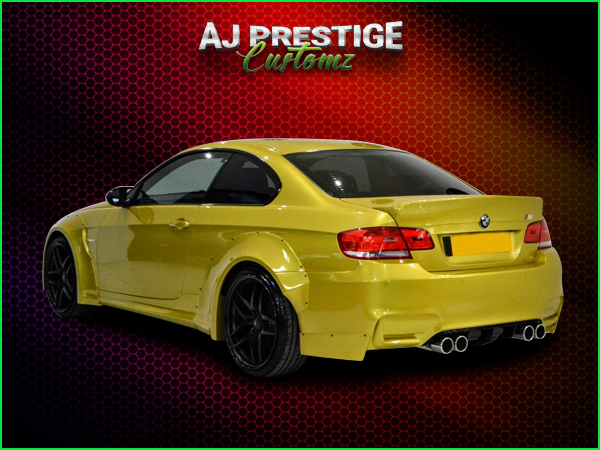 BMW-E92-E93-to-M4-Style-Wide-Body-Kit-(5)
