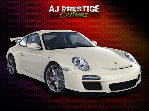 Porsche GT3 Style for Porsche 997 Body Kit