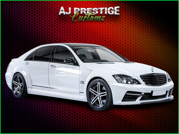 Mercedes S Class to Black series Body Kit