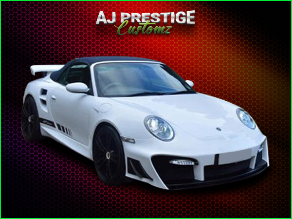 Porsche 911 996 to 997 Wide Body Kit