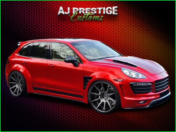 Porsche Cayenne 958 Body Kit