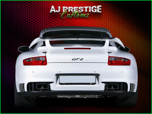 Porsche GT2 Style Body Kit for Porsche 997 (3)