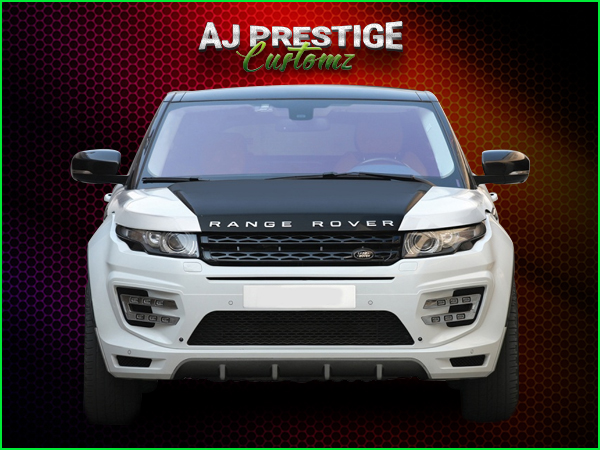Range Rover Evoque Fitment Body Kit with Triple Exhausts