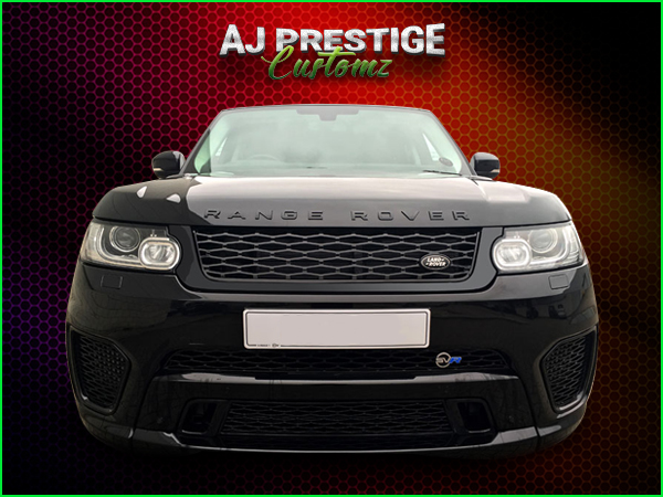 Range Rover Sport L494 fitment SVR Style Body Kit Conversion