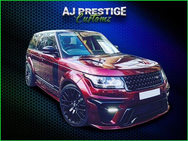 Range Rover Full Arch 2013