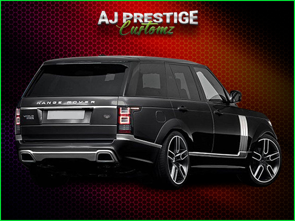 Range Rover L405 Caractere Fender Flares Body Kits