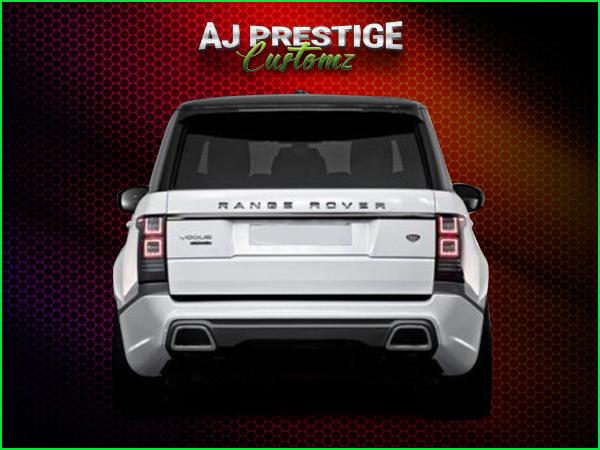 Range Rover L405 Caractere Fender Flares Body Kit London