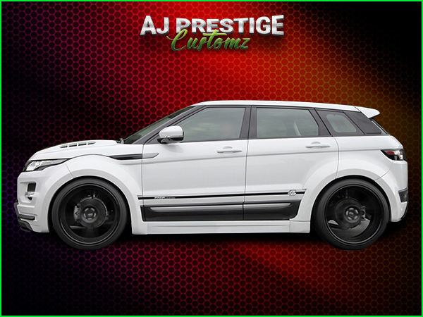 Range Rover Evoque Wide Body Kits