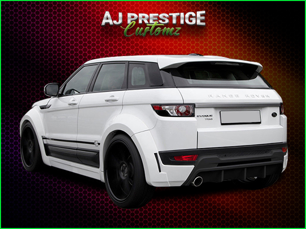 Range Rover Evoque Wide Body Kit London