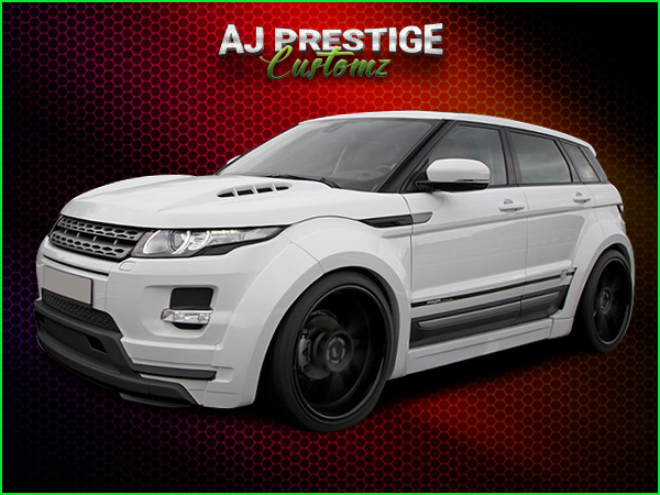 London Range Rover Evoque Wide Body Kit