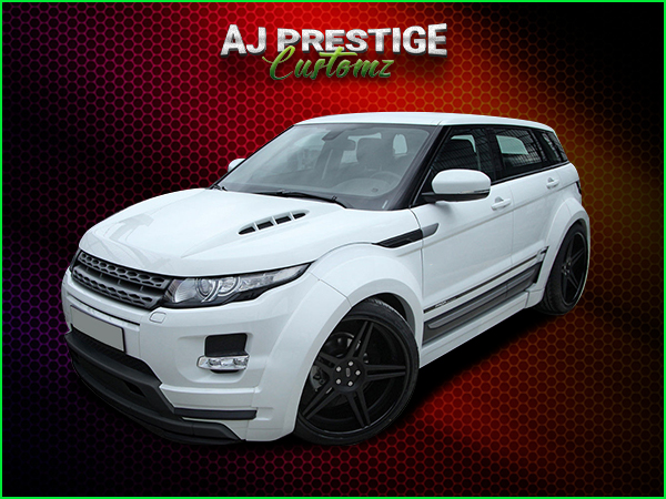 London Range Rover Evoque Wide Body Kits