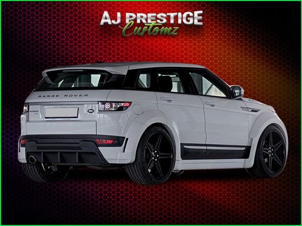 Range Rover Evoque Wide Body Kits London