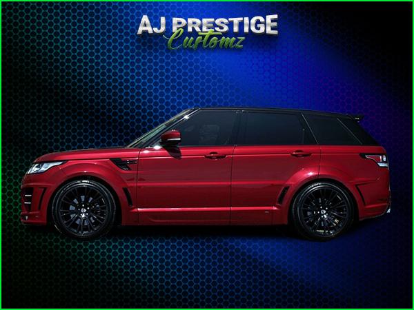Range Rover new shape