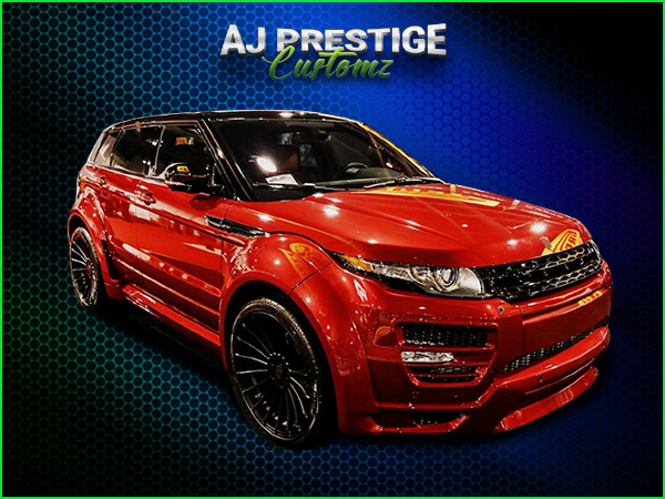 Range Rover Evoque Wide Arch Full Kevlar Body Kit London