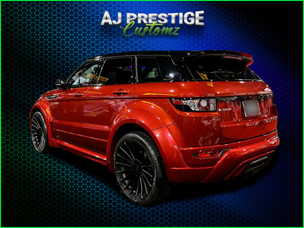 London Range Rover Evoque Wide Arch Full Kevlar Body Kit